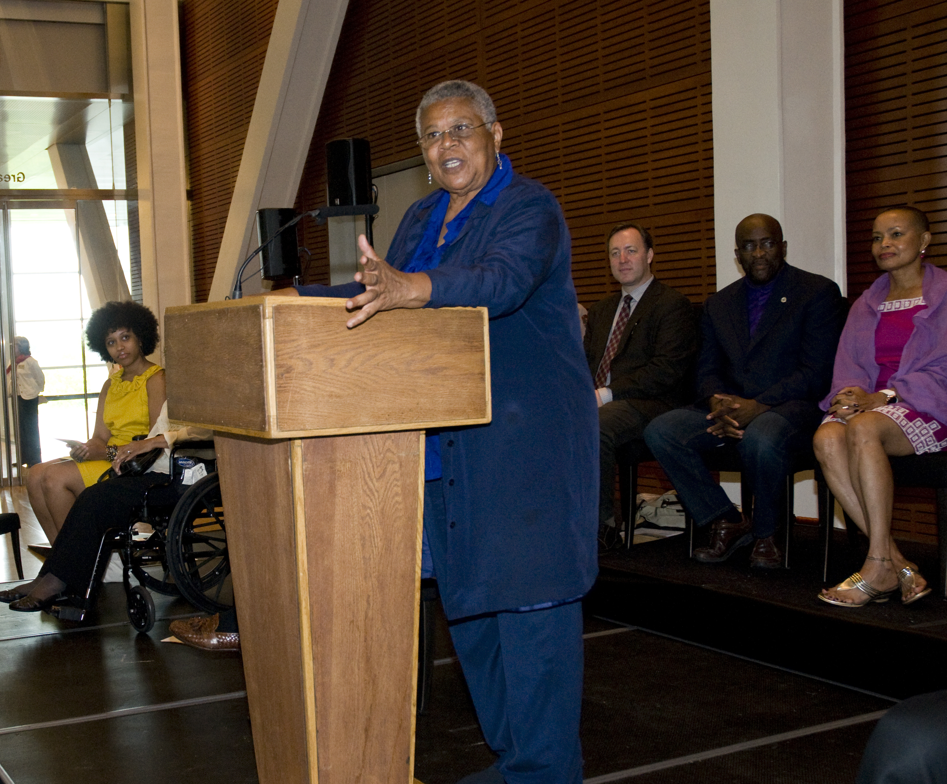 Minnijean Brown Trickey, 2012 Arkansas Civil Rights Heritage Honoree