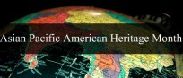 Asian Pacific American Month globe