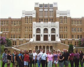Summer Teacher Institute at Little Rock Central High School NHS