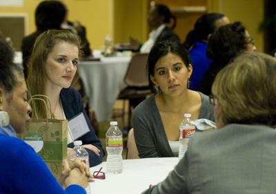 students at Racial Attitudes Conference at UALR