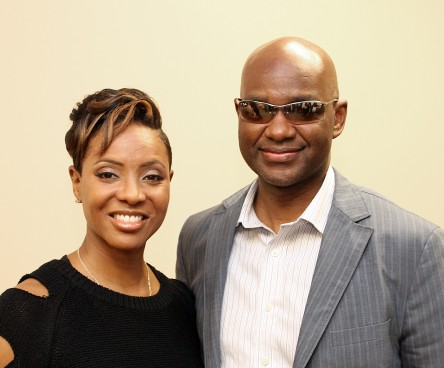 MC Lyte and Dr. Michael R. Twyman