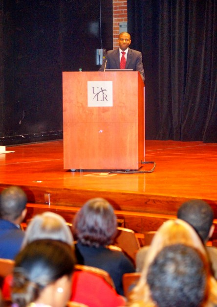Dr. Ivory A. Toldson, deputy director for the White House Initiative on Historically Black Colleges and Universities
