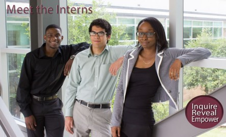 Student interns at the UALR Institute on Race and Ethnicity