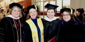 Dr. Karen Kuralt, Dr. Heidi Harris, Sarah Ricard (MA), & Dr. Barb L'Eplattenier