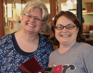 Photo of Jana Jolly and Dr. Barb L'Eplattenier