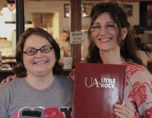 Photo of Dr. Barb L'Eplattenier and Rhonda Thomas