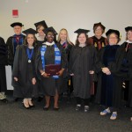 MA Grads with Department Faculty