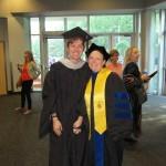 Ross Bradley, MA, with Dr. Heidi Harris