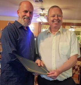 Robert McCarville Wins Editing Award 2017
