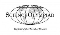 Black & White Science Olympiad Logo