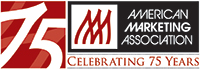 American Marketing Association (AMA) -Celebrating 75 Years Logo