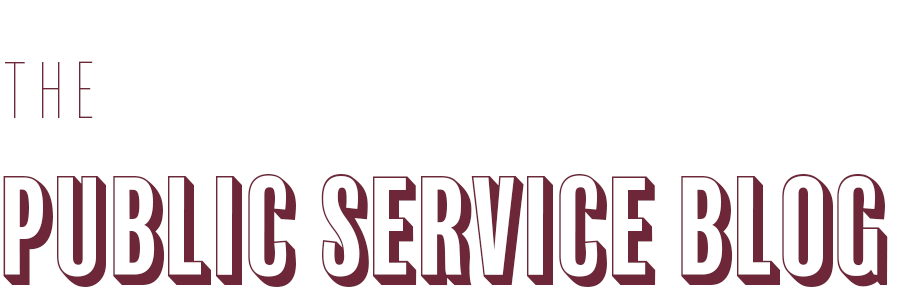public service blog logo