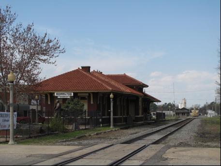 Morrilton Rail Depot