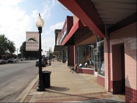 Downtown Morrilton, Broadway St,