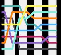 shell algorithm illustration