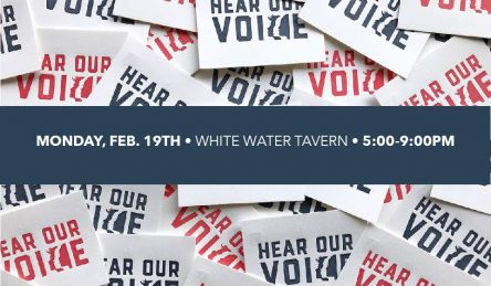 an event scheduled for february 19 at the white water tavern