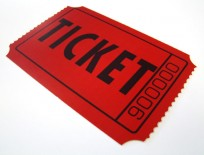 red raffle ticket clip art