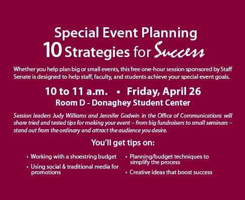 Event Planning Promo