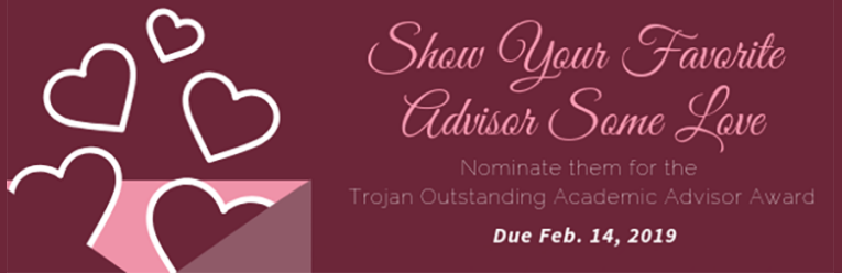 In recognition of outstanding academic advising, a University of Arkansas at Little Rock Trojan Outstanding Advising Award will be presented to a deserving advisor during the spring semester 2019. The deserving recipient will receive a $1000 cash award.