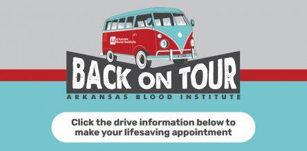 back on tour blood drive photo