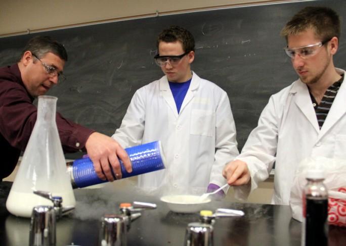 Making Liquid Nitrogen Ice Cream