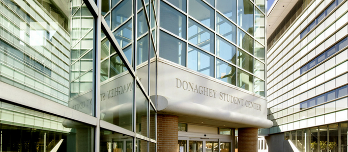 Picture of the donagheyy student center