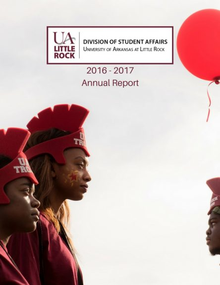 Picture of Annual Report PDF cover. Annual Report Summary