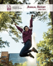 Student Affairs Annual Report 2018-19 cover