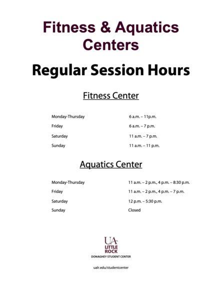 Regular session hours
