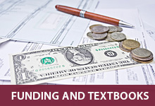 Funding and Textbooks