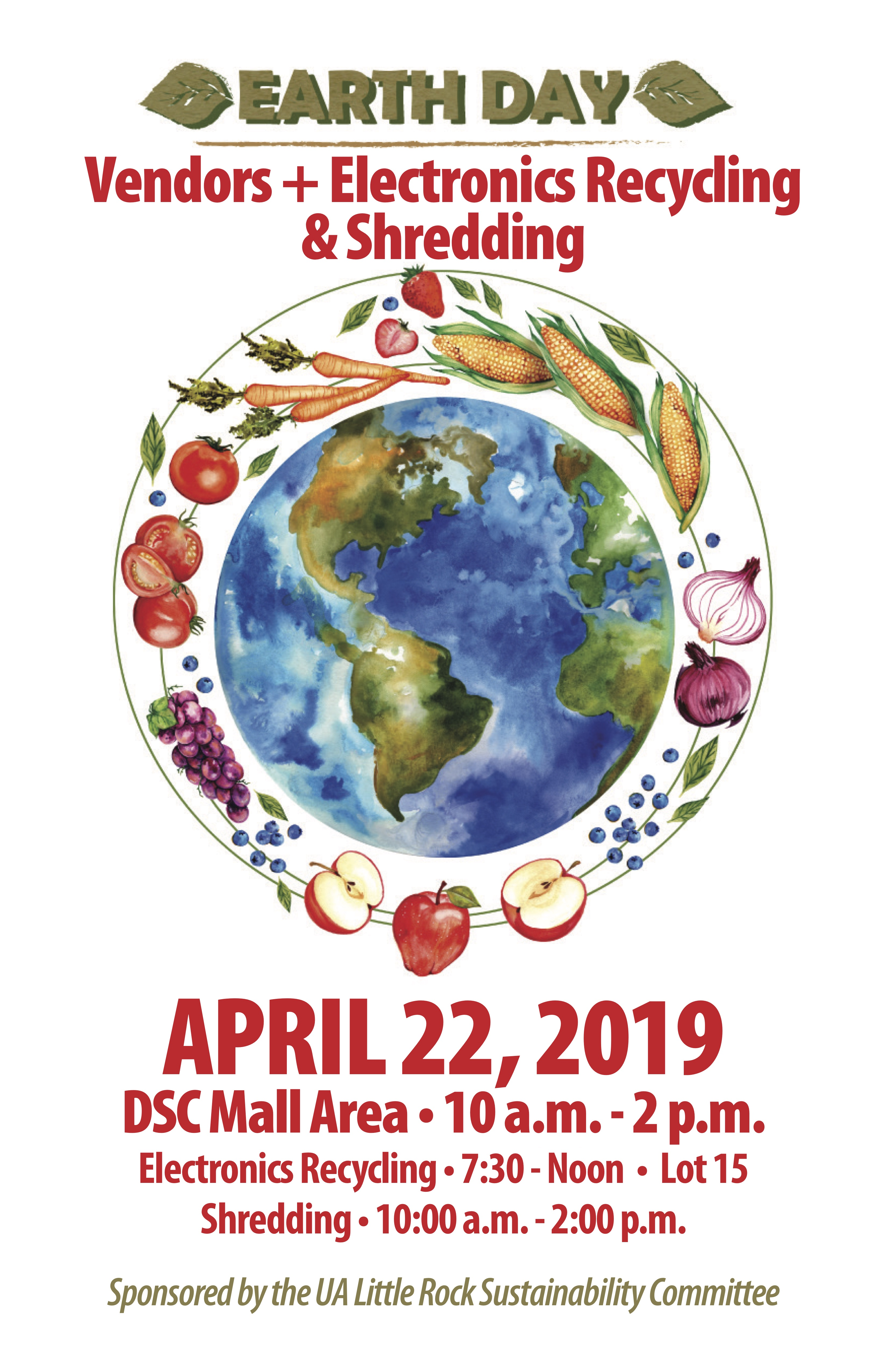 Earth Day 2019 Committee On Sustainability