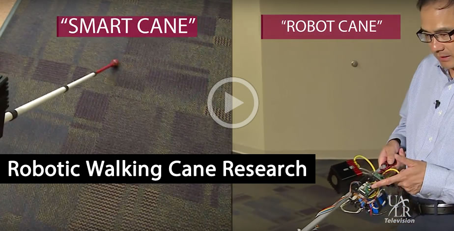 Robotic Walking Cane at UALR