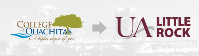 Transfer from the College of the Ouachitas to UA Little Rock