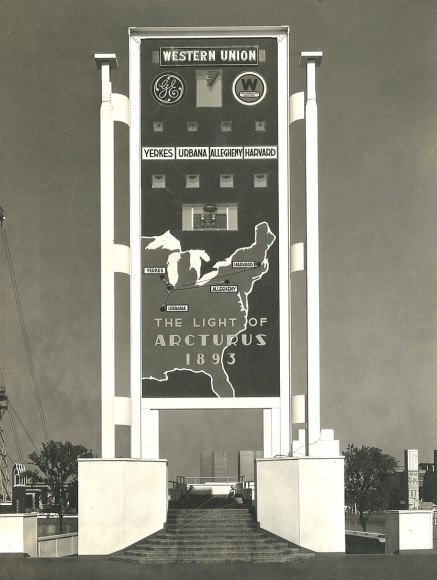 PICTURE FROM 1933 WORL'D FAIR OF EXHIBIT