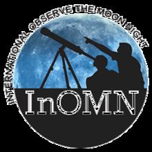 Logo of International Observe the Moon Night