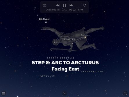 Step 2 Arc to Arcturus Graphic