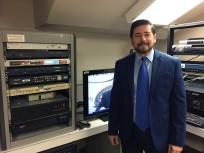 University TV's engineer