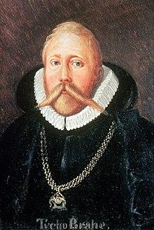 Portrait of Tycho Brahe Dutch Astronomer