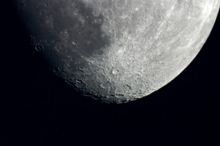 Image of Tycho Crater on Moon