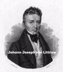 Drawing of Joseph von Littrow