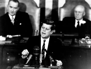 Photo of President Kennedy