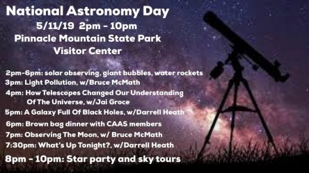 Graphic of National Astronomy Day Star Party