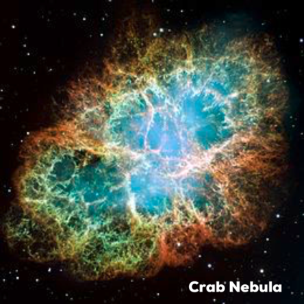July 4 Crab Nebula