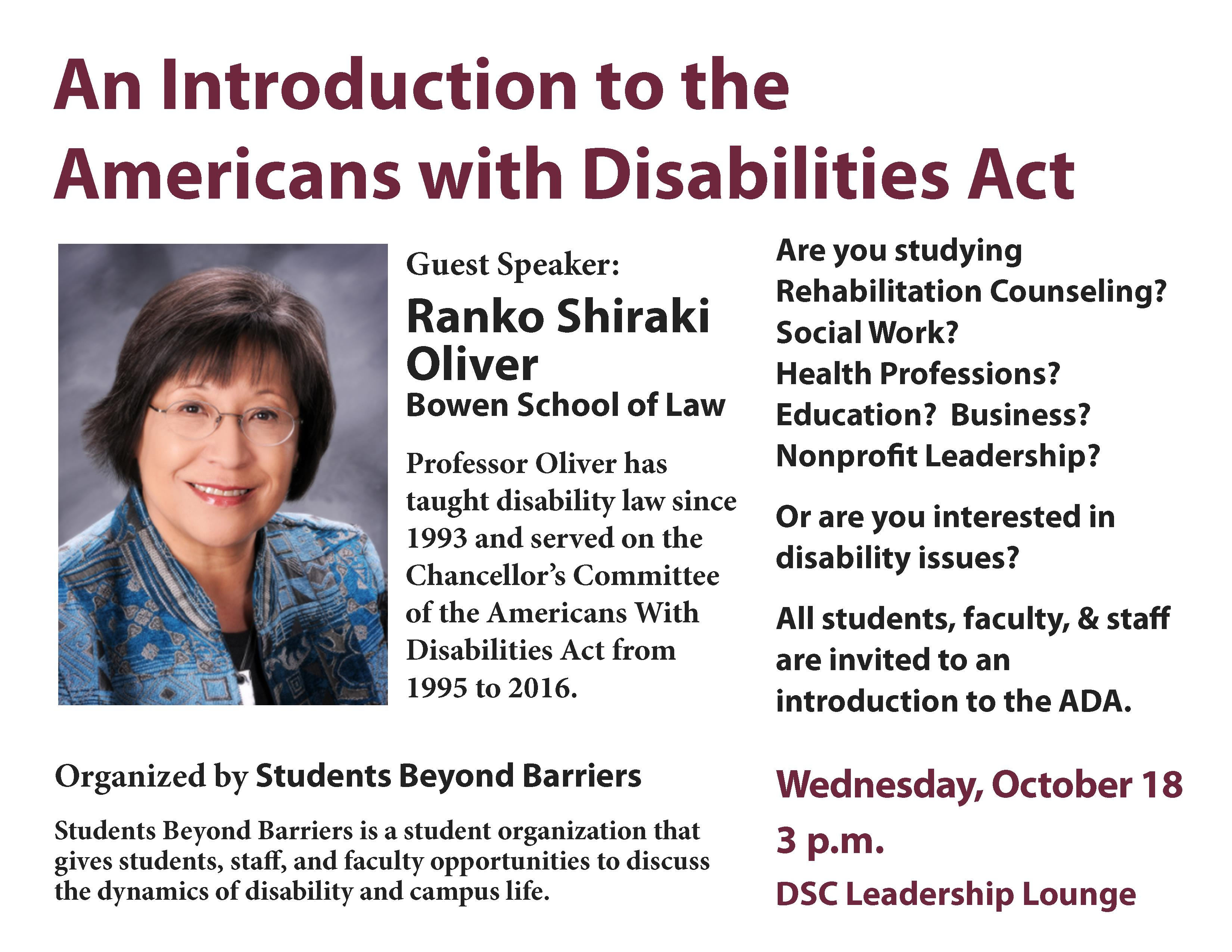 an introduction to the history of the americans with disabilities act