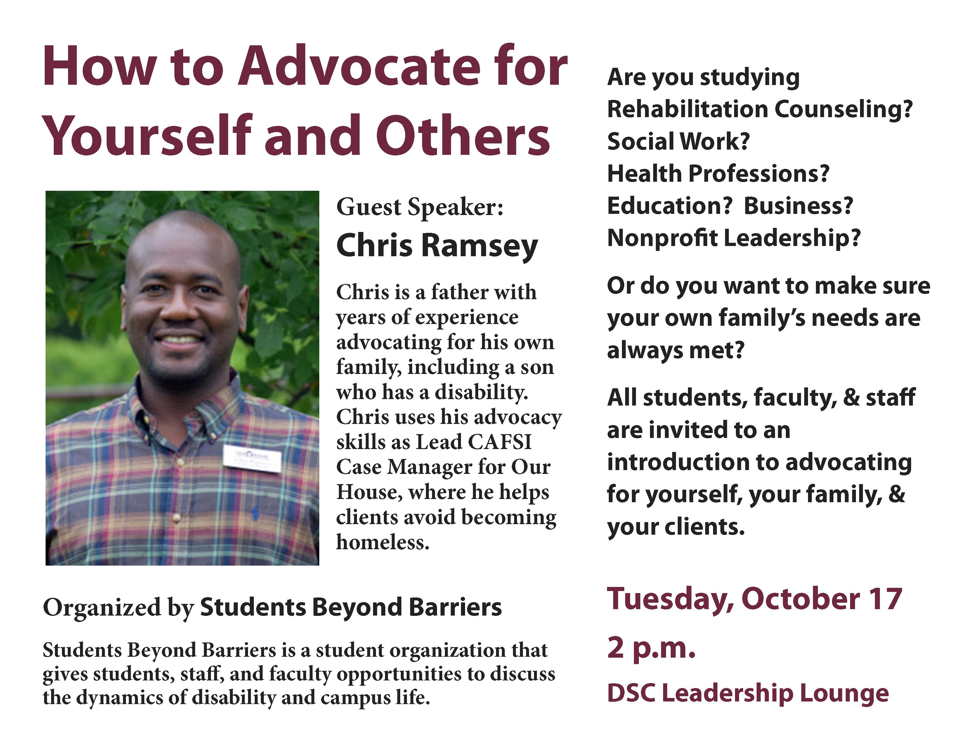 Know It 2 Own It Advocating For Your >> How To Advocate For Yourself And Others University Of Arkansas At